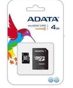 Card de Memorie microSDHC Adata 4Gb