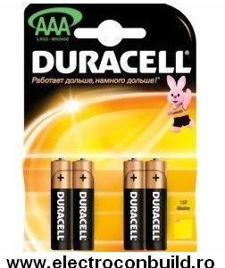 Baterii R3 Alkaline Duracell