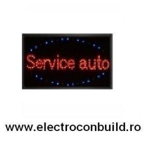 Panou led Service Auto