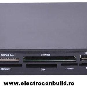 Cititor carduri 35 in 1 + USB 3,5inch