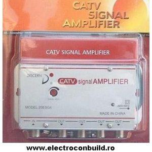 Amplificator spliter CATV 3 iesiri