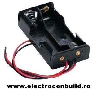 Suport baterii 2xAA