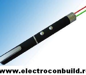 Laser pointer verde si rosu 500 mW