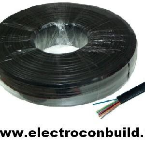 Cablu Telefon 8 FIRE negru 100m
