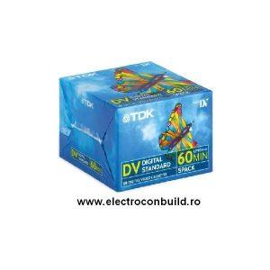 Caseta camera miniDV TDK 60 min