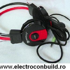 Casti audio cu microfon A520