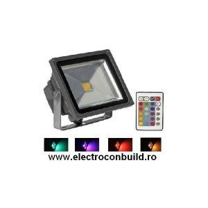 Proiector cu Led RGB 20W