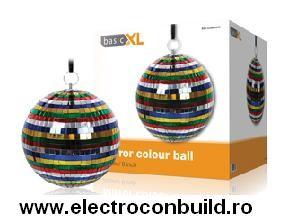 Glob disco cu oglinzi colorate