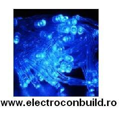 Instalatie 140 leduri albastre