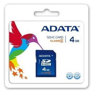 Card de Memorie SD 4Gb Adata