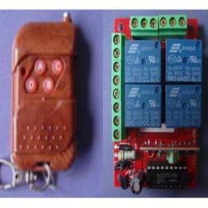 Telecomanda cu receptor 4 canale automatizari
