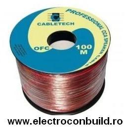 Cablu boxe silicon 2x2,5mm