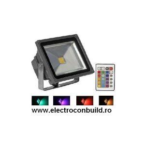 Proiector cu Led RGB 30W