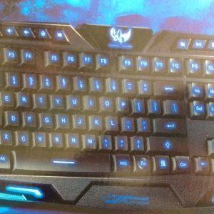 Tastatura Gaming iluminata Usb TST104GM