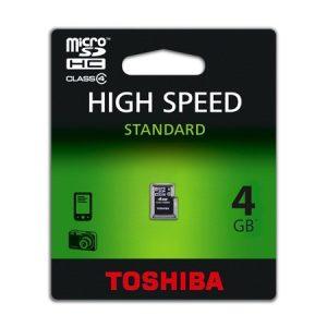 Card Memorie MicroSD 4GB Toshiba CD4TB