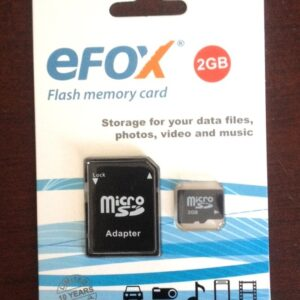 Card de memorie microsd Efox 2Gb EX2CD