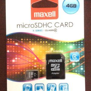 Card de memorie microsd Maxell 2Gb MX2CD