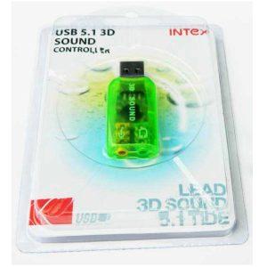Placa de sunet USB 5.1 3D PL75TY