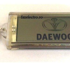 Breloc cu afisaj logo DAEWOO