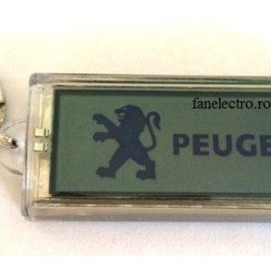 Breloc cu afisaj logo PEUGEOT