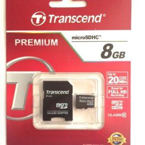 Card Memorie MicroSD 8GB Transcend FE8FY