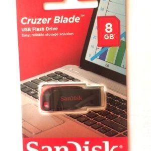 USB 2.0 Flash Drive 8GB SanDisk FE8SK