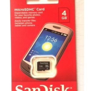 Card Memorie MicroSD 4GB SanDisk FE4CS