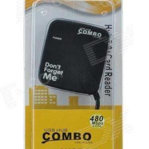 Cititor carduri hub usb Combo FE619FGD