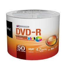 DVD-R SONY 4.7GB FE50SN