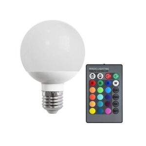 BEC LED 10W E27 RGB TELECOMANDA
