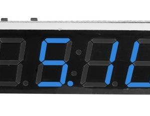 Ceas electronic cu voltmetru si termometru FE78304FDR