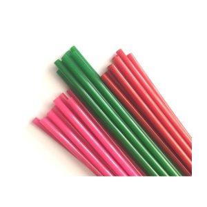 Baton din silicon 8mm Roz