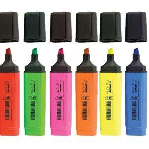 Textmarker varf 1-5 mm 6 culori/set FE00952AY