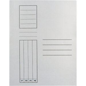Dosar plic carton alb set 30 bucati EL303RT