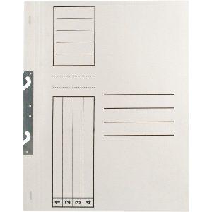 Dosar carton alb sina metalica set 30 bucati EL3041RT