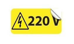 Etichete prize 220V autoadezive set 10 buc EL544ETC