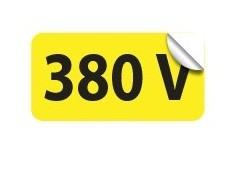 Etichete prize 380V autoadezive set 10 buc EL540ETC