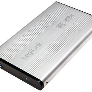 "RACK EXTERN 2.5"" SATA USB 3.0 Aluminiu SILVER LOGILINK EL0106AFR"