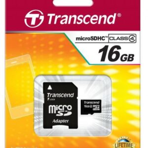 Card de memorie microSD16Gb Transcend EL16HBG