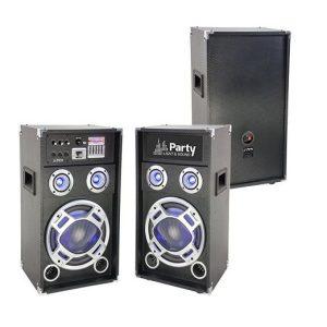 SET 2 BOXE KARAOKE 400W EB43EPC