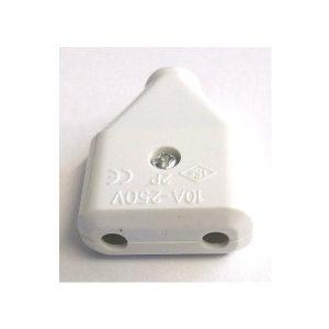 Cupla plastic 10A 250V alb