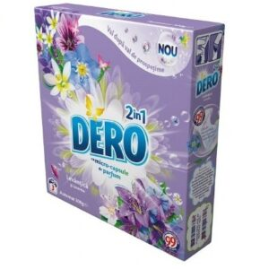 Dero Levantica si iasomie 2in1 detergent automat cutie 300gr