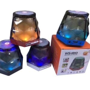 Boxa portabila Bluetooth cu joc de lumini Diamant EB1810BCB