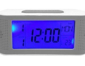 Ceas electronic cu afisaj LCD  albastru EB041THE
