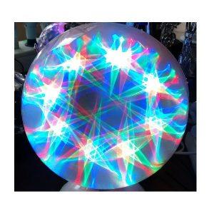 Lampa rotativa cu jocuri de lumini RGB ED116RVT