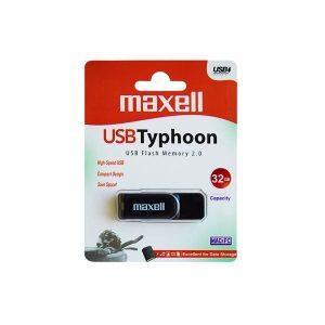 FLASH DRIVE 32GB USB 2.0 TYPHOON MAXELL ED32LHP