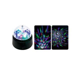 Lampa rotativa multicolora MP3 Bluetooth