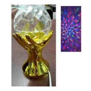 Lampa rotativa minge lumini RGB