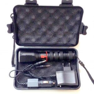 Lanterna led putere cu Zoom si acumulator ED1019RVT