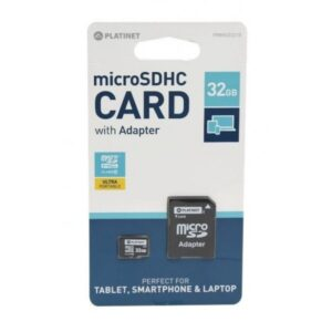 Card memorie MicroSDHC 32Gb Platinet clasa 10 ED323MVR